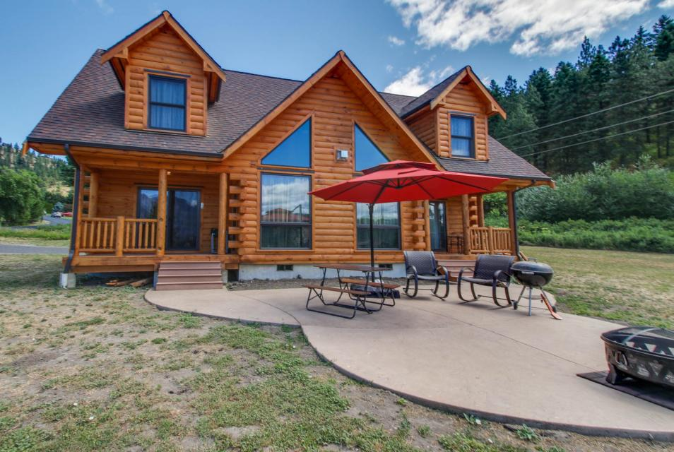 Fox hollow lodge 3 bd vacation rental in leavenworth wa for Leavenworth cabin rentals