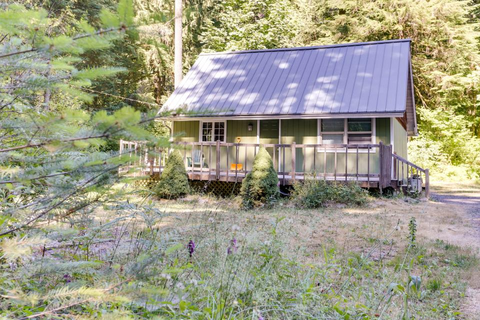 mount hood cabin 1 bd vacation rental in rhododendron