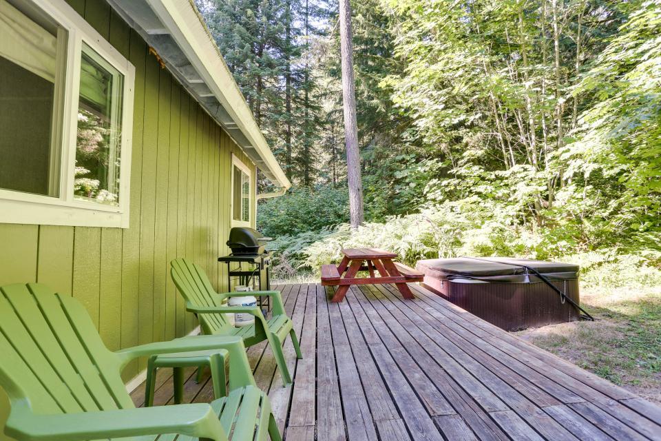 Mount Hood Cabin - Rhododendron - Take a Virtual Tour