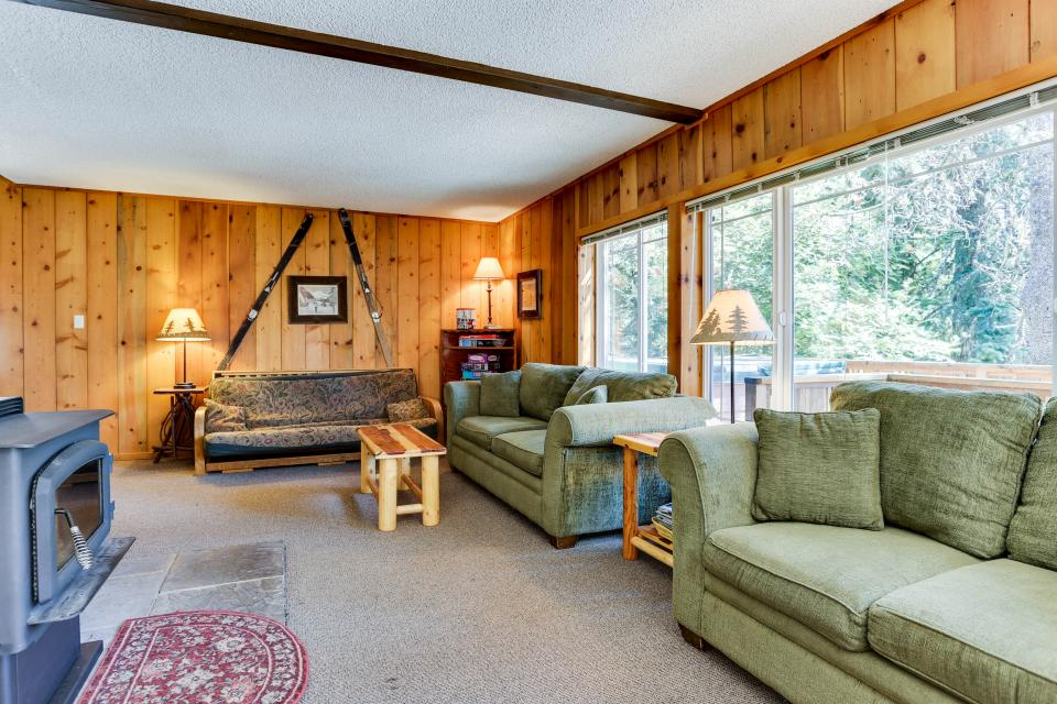 Mt Hood Chalet Vacation Rental - Government Camp Vacation Rental - Photo 2