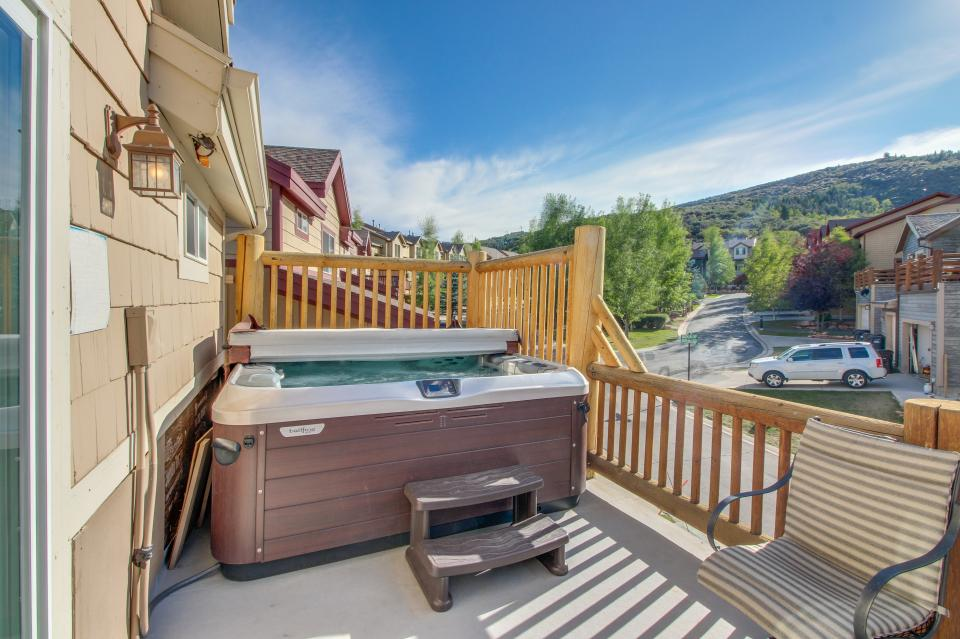 Bobsled Townhome with Private Hot Tub - Park City Vacation Rental - Photo 2