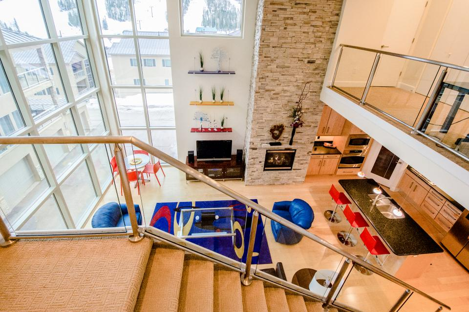 Contemporary Living at The Lofts w/ hot tub! - Brian Head Vacation Rental - Photo 32