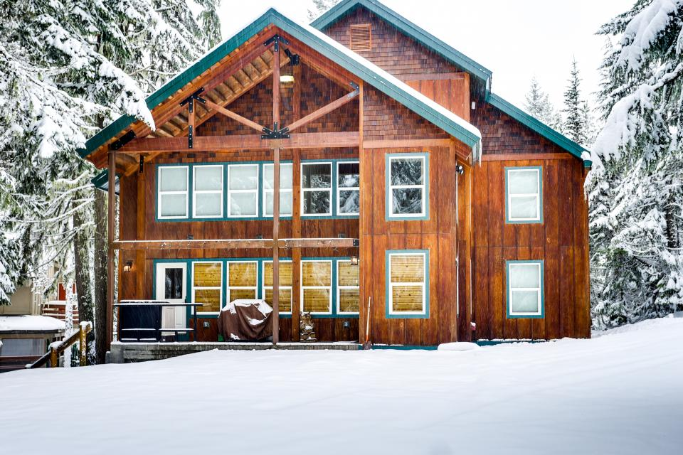 evergreen house 5 bd vacation rental in government camp