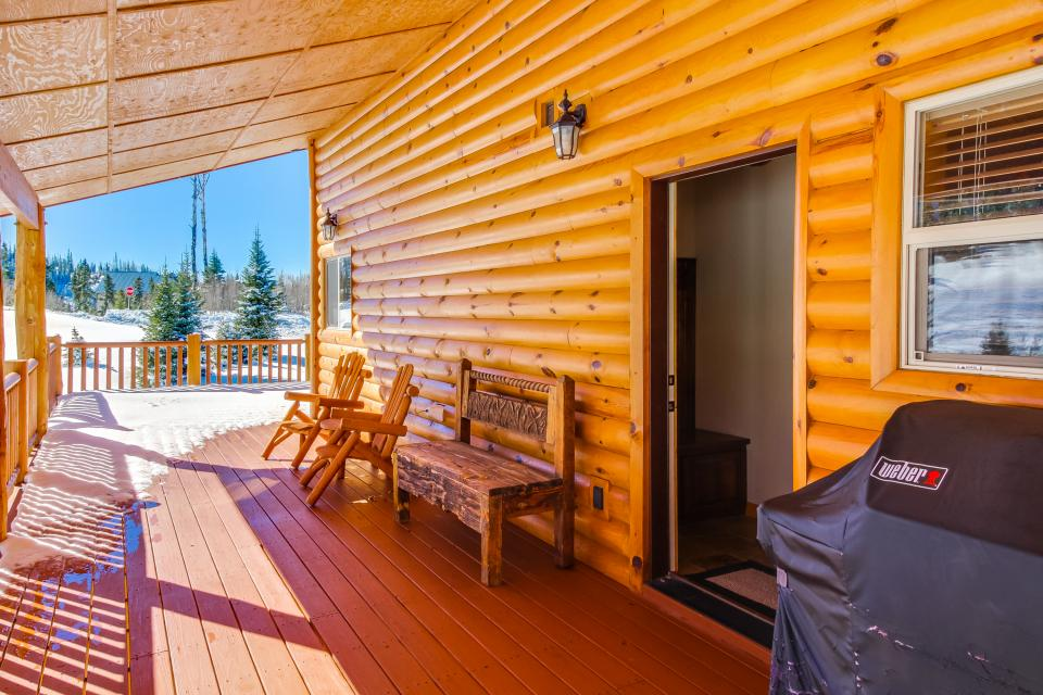 Steam engine lookout 4 bd vacation rental in brian head for Cabin rentals vicino a brian head utah