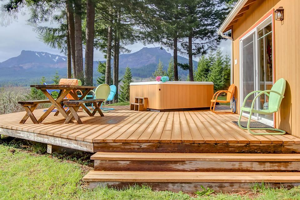 Treehouse Rentals Washington Part - 42: Rustic Mountain Cottage - Vacation Rental - Photo ...