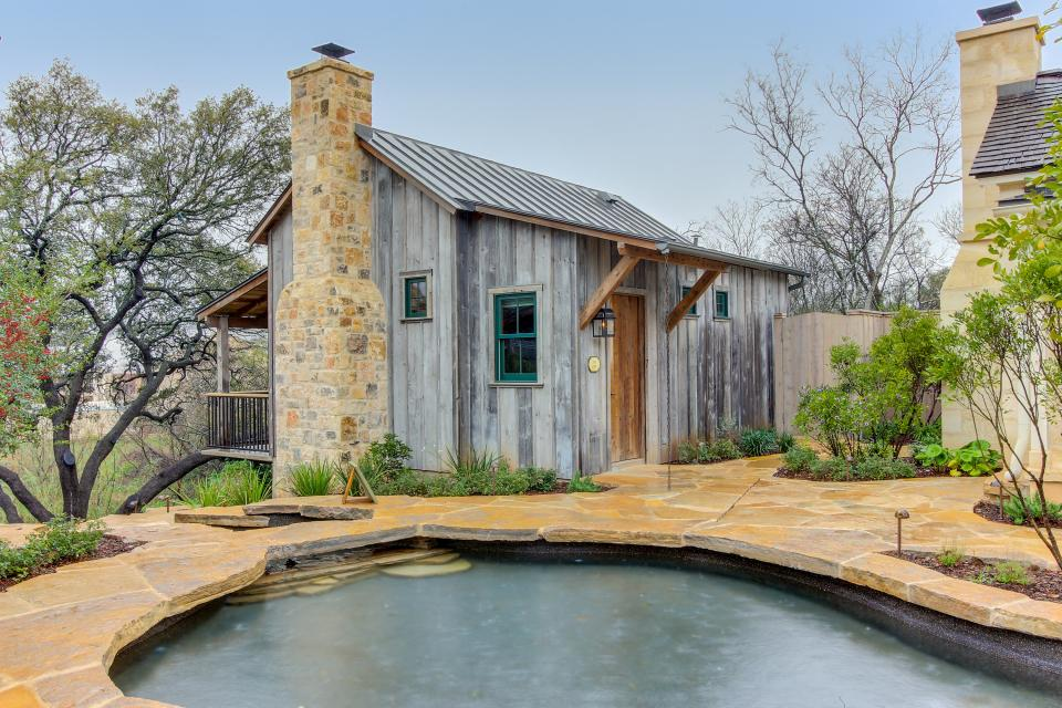 The Blacksmith Quarters on Barons Creek: The Carl Cottage - Fredericksburg Vacation Rental - Photo 1