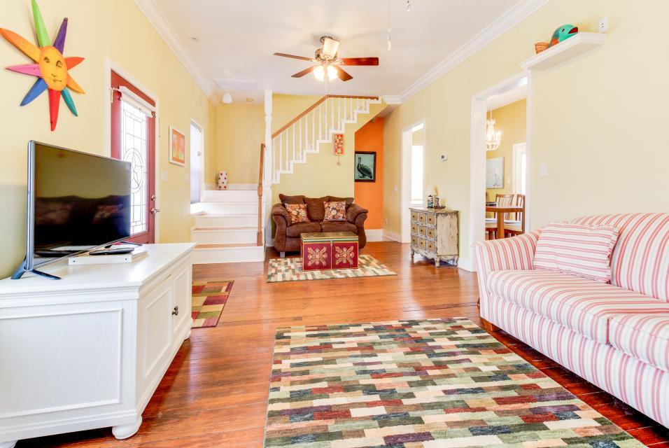The Yellow Beach House - Galveston Vacation Rental - Photo 1