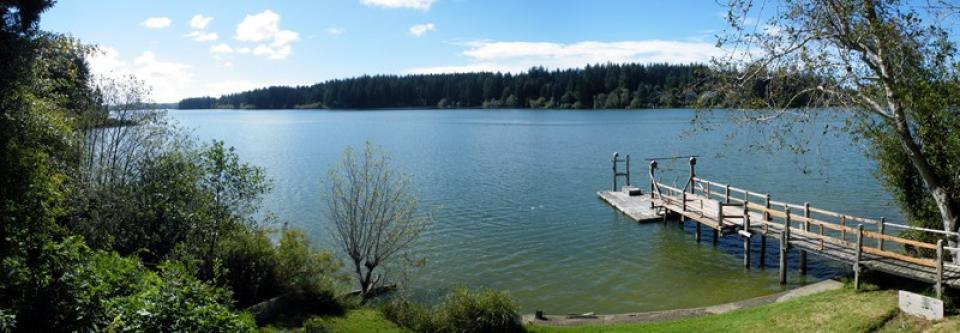 Carnes Siltcoos Lake Cabin 2 Bd Vacation Rental In