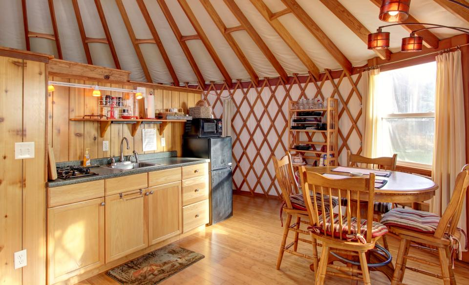 Yurt on the Bay - Bay City Vacation Rental - Photo 11