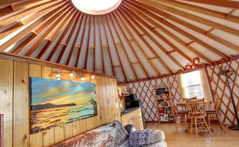 Yurt on the Bay - Bay City Vacation Rental - Photo 20