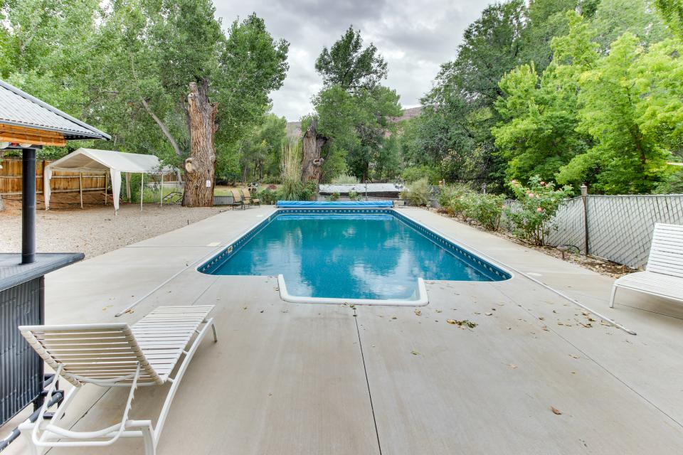 center street villa 3 bd vacation rental in moab ut
