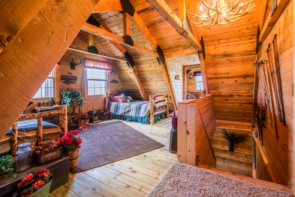 Frozen in time 4 bd vacation rental in brian head ut for Cabin rentals vicino a brian head utah