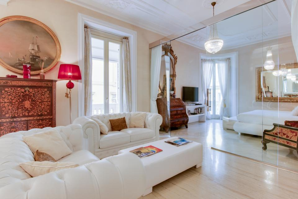 Spanish Steps Luxury Terrace Apartment - Rome - Take a Virtual Tour