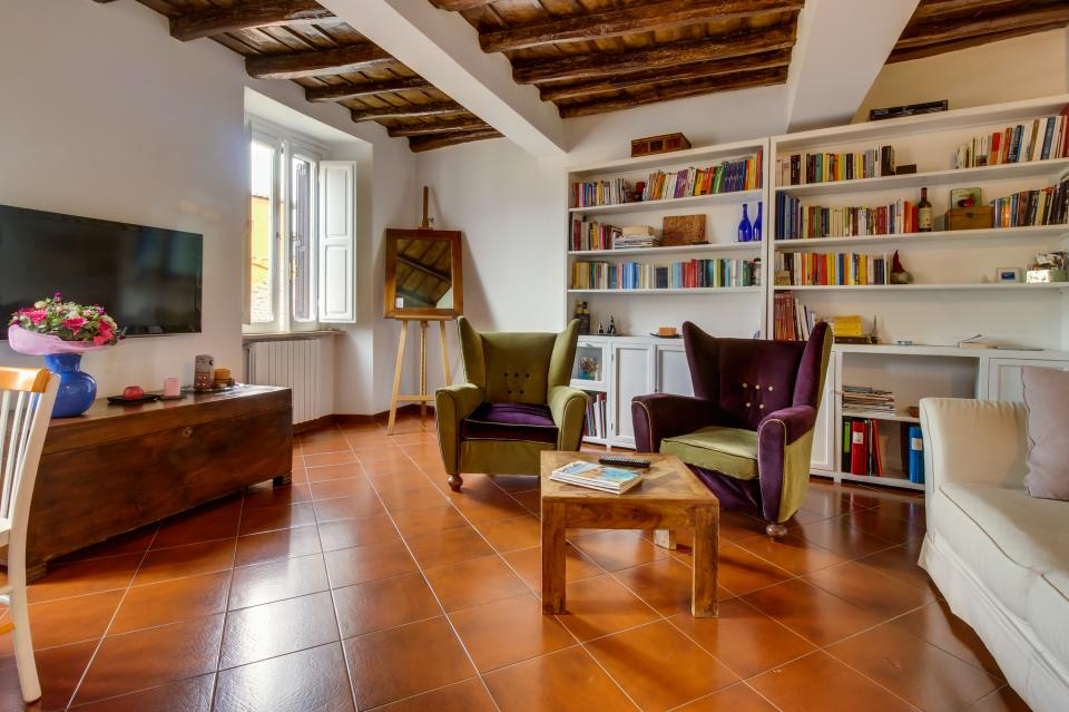 Trastevere View Apartment - Rome Vacation Rental - Photo 1