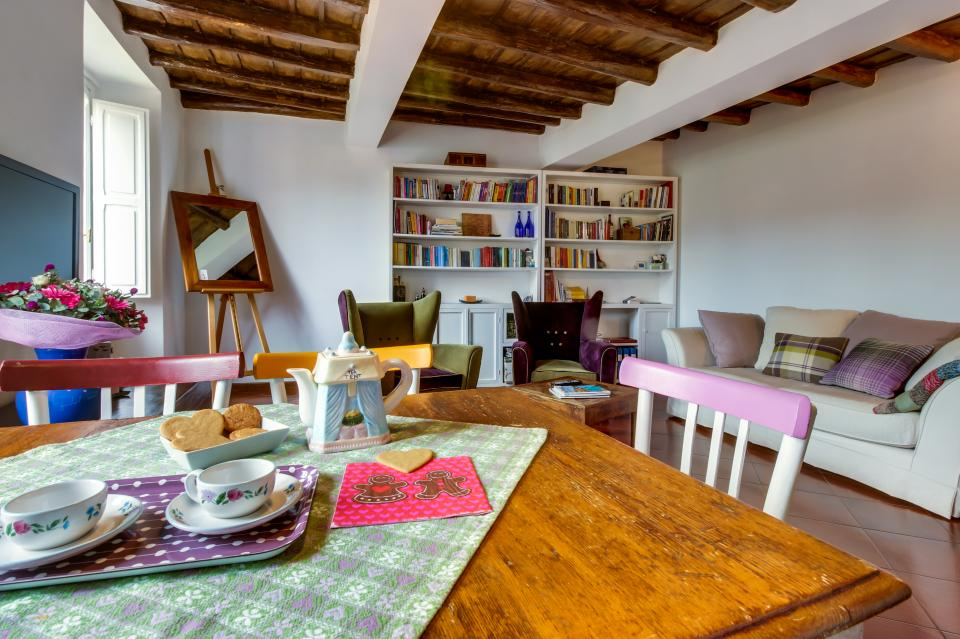 Trastevere View Apartment - Rome Vacation Rental - Photo 6