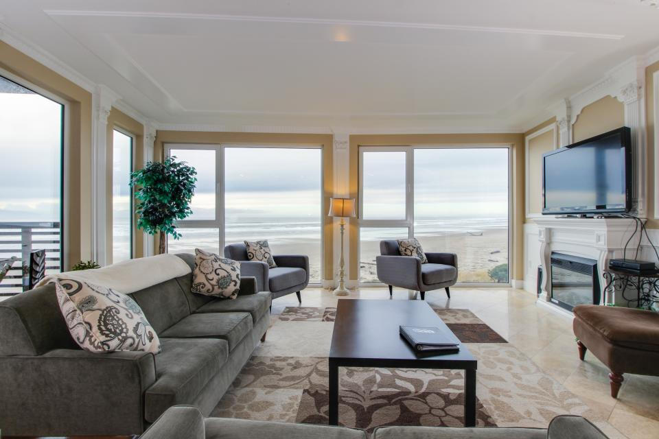 The Modern Oceanfront View Condo #203 - Rockaway Beach Vacation Rental - Photo 1