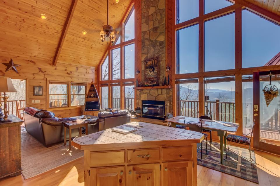 Beauty and the Beast Cabin - Sevierville Vacation Rental - Photo 1
