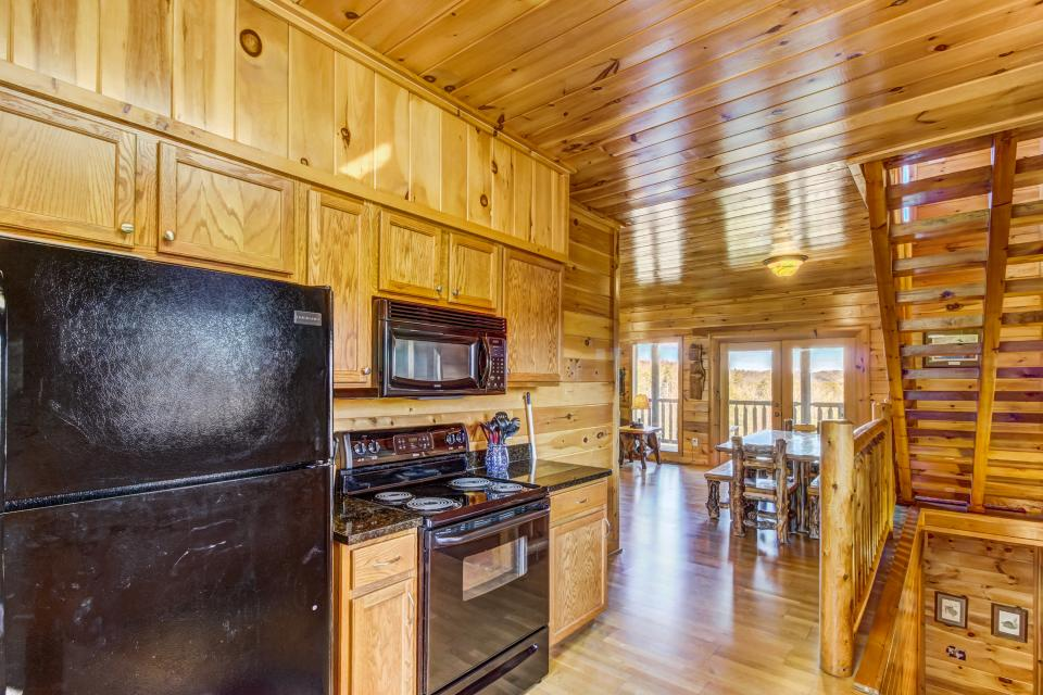 Serenity's View Cabin - Sevierville Vacation Rental - Photo 8