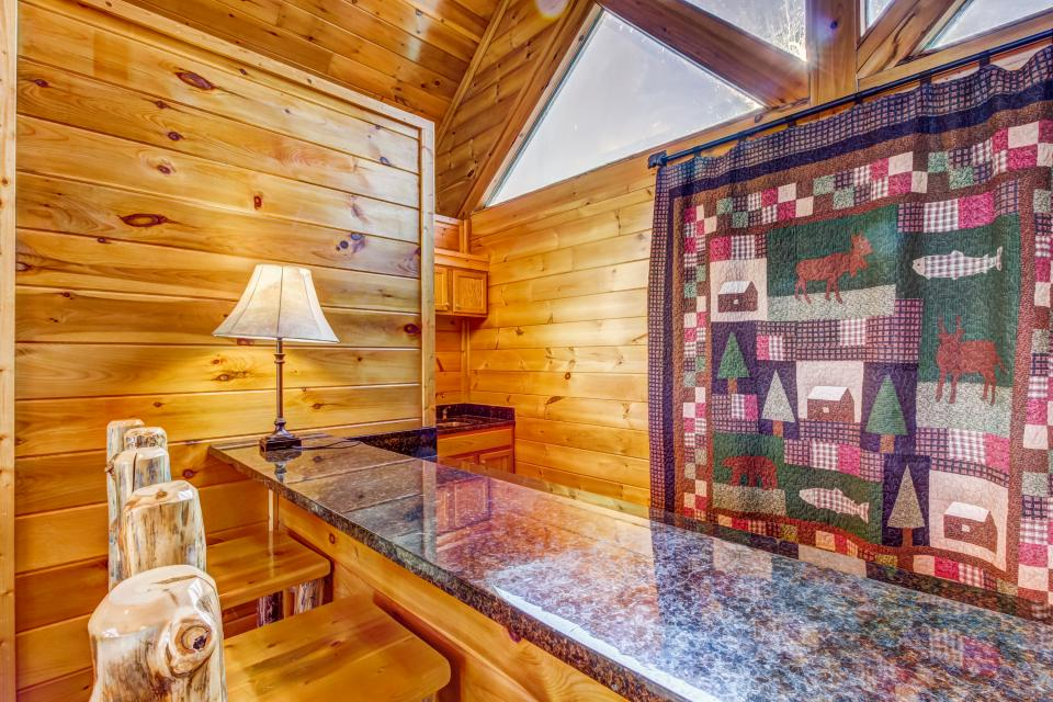 Serenity's View Cabin - Sevierville Vacation Rental - Photo 28