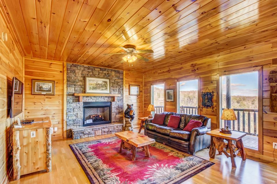 Serenity's View Cabin - Sevierville Vacation Rental - Photo 1