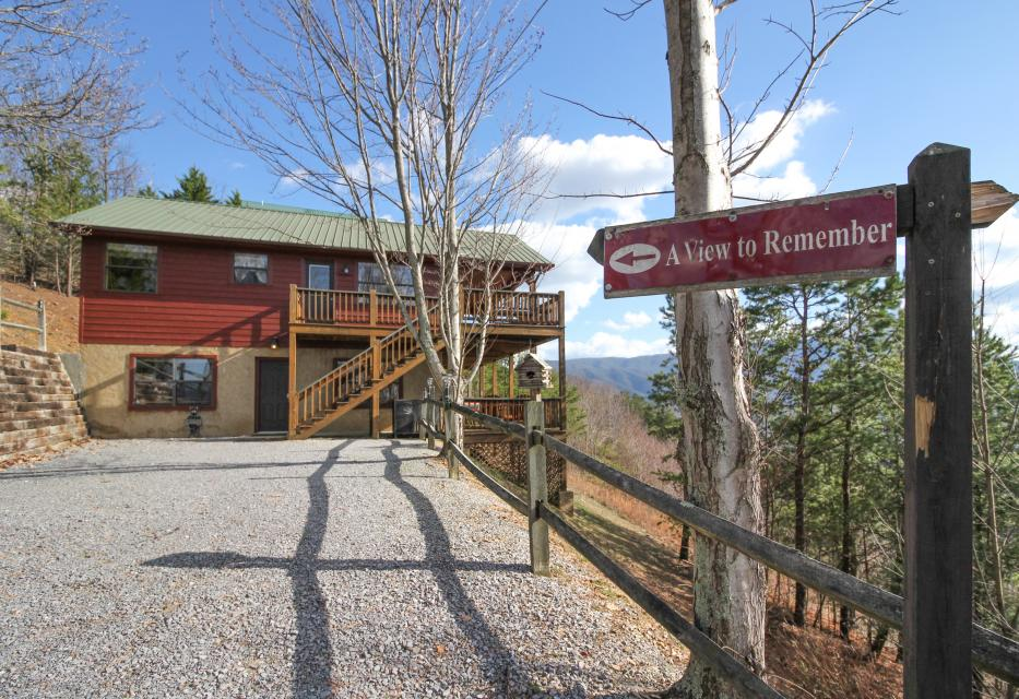 A View To Remember Cabin 3 Bd Vacation Rental In