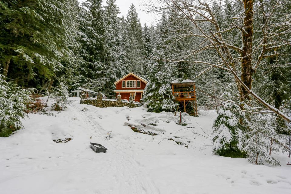 Swedish Stuga Vacation Rental - Rhododendron Vacation Rental - Photo 58