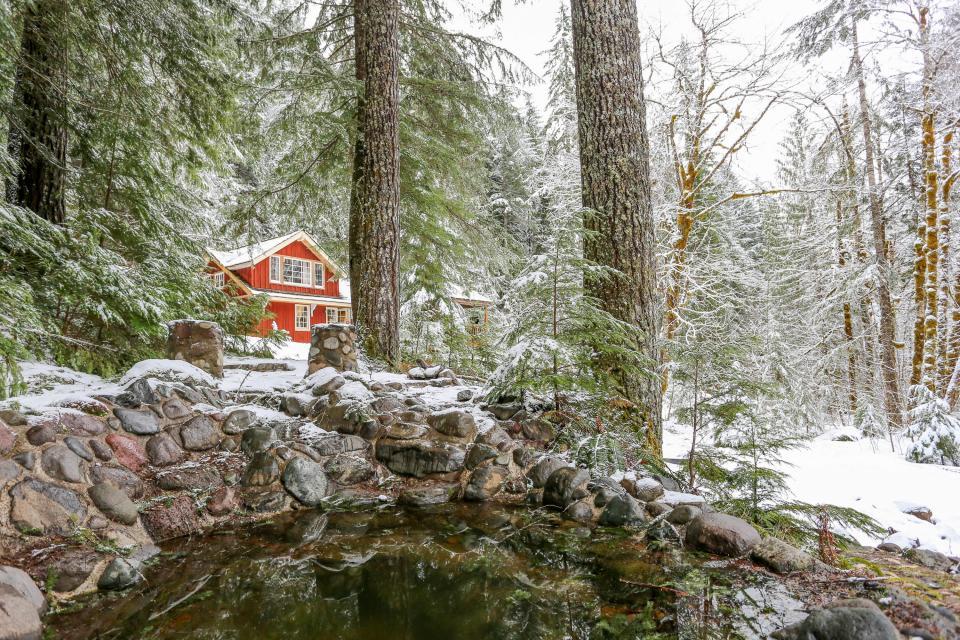 Swedish Stuga Vacation Rental - Rhododendron Vacation Rental - Photo 50