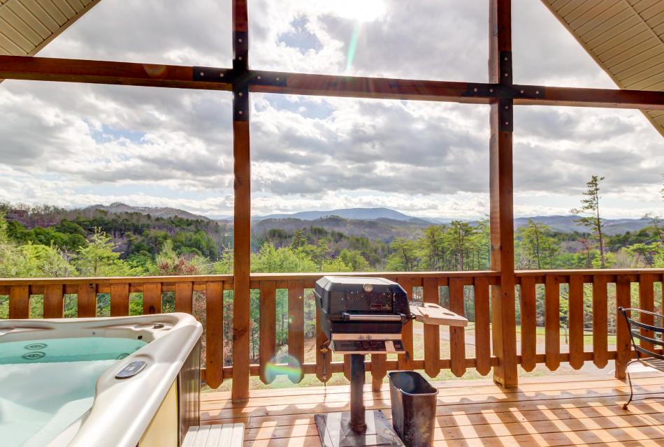 Awesome View Cabin - Sevierville Vacation Rental - Photo 29