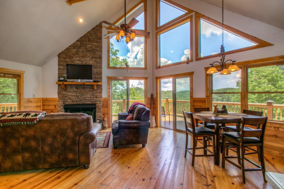 Wilderness Lodge - Ellijay Vacation Rental - Photo 2