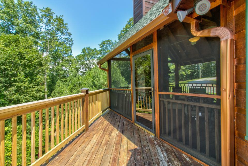Wilderness Lodge - Ellijay Vacation Rental - Photo 29