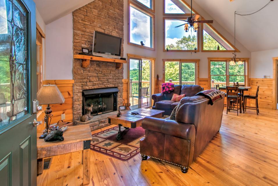 Wilderness Lodge - Ellijay Vacation Rental - Photo 9