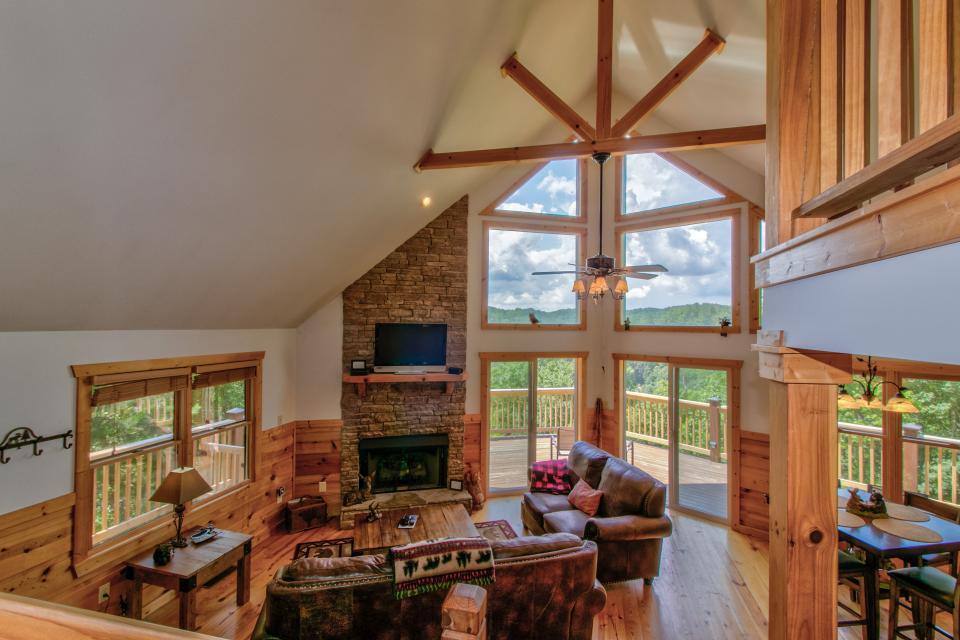 Wilderness Lodge - Ellijay Vacation Rental - Photo 8