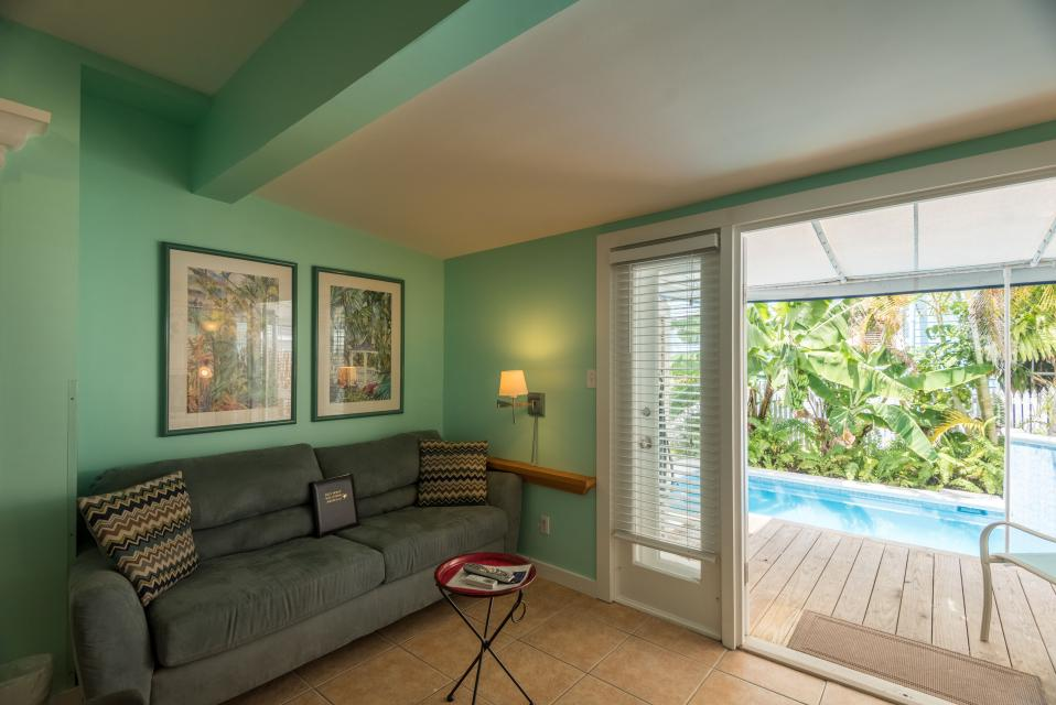 Poolside Retreat  - Key West - Take a Virtual Tour