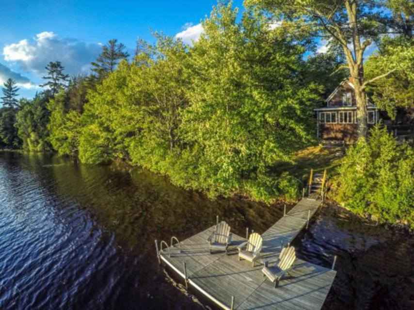 Songo Pond Cabin - Bethel - Take a Virtual Tour