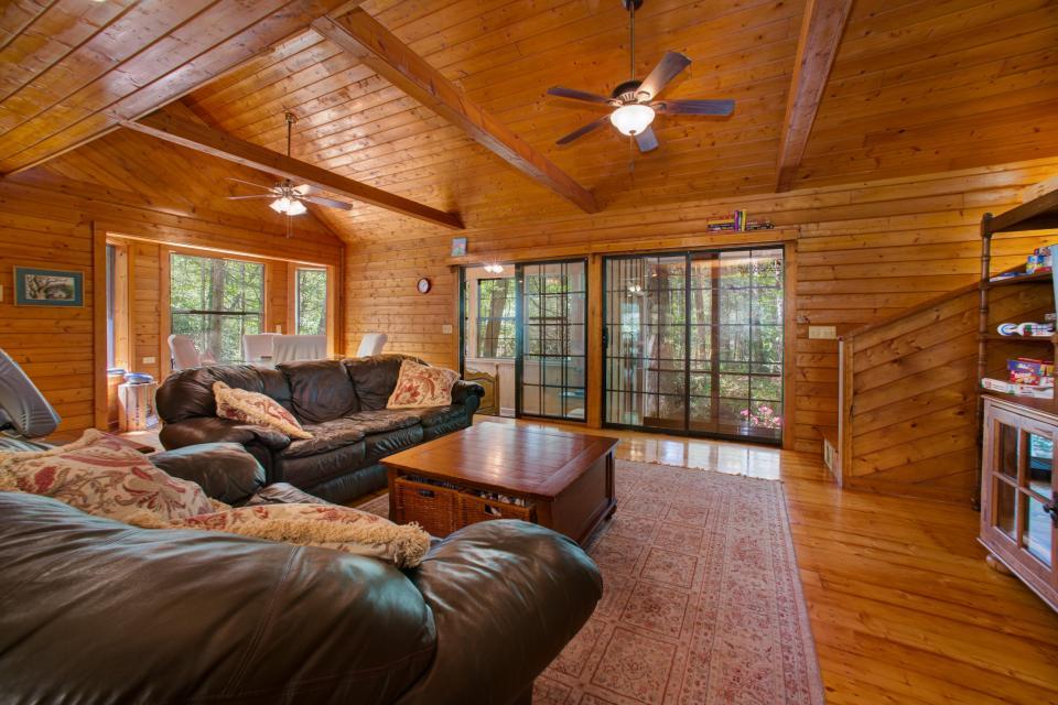 At Last Cabin - Ellijay Vacation Rental - Photo 6