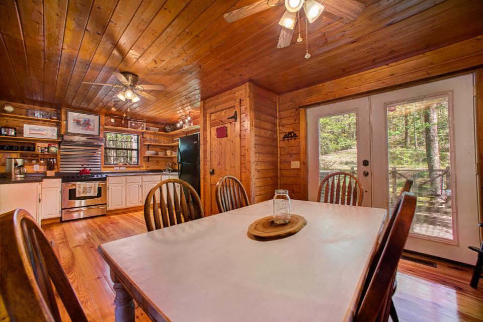 At Last Cabin - Ellijay Vacation Rental - Photo 9