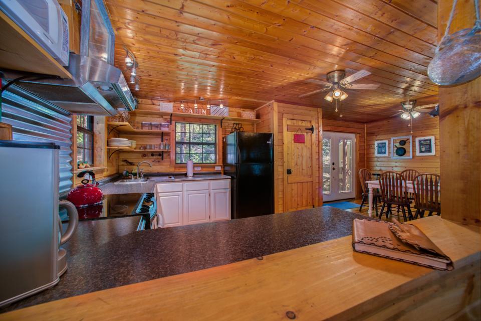 At Last Cabin - Ellijay Vacation Rental - Photo 40