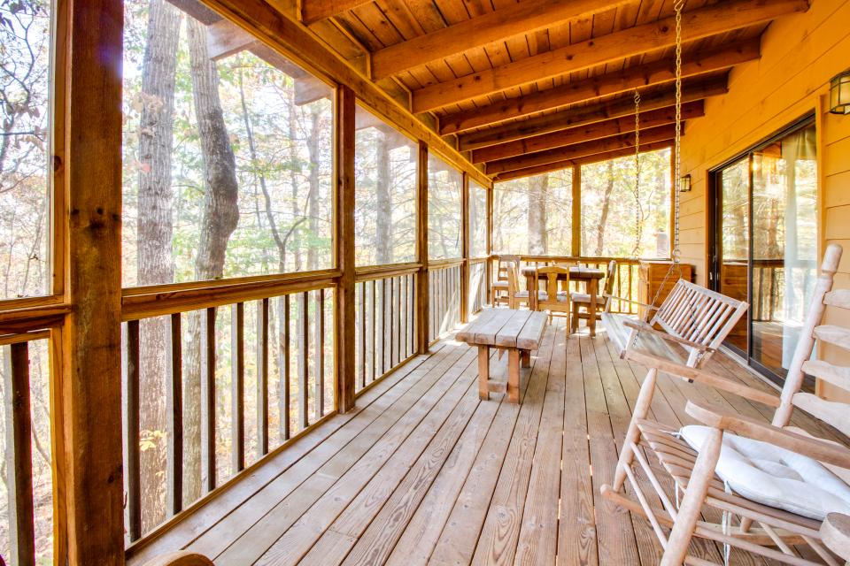 Birch Tree Cabin - Ellijay Vacation Rental - Photo 23
