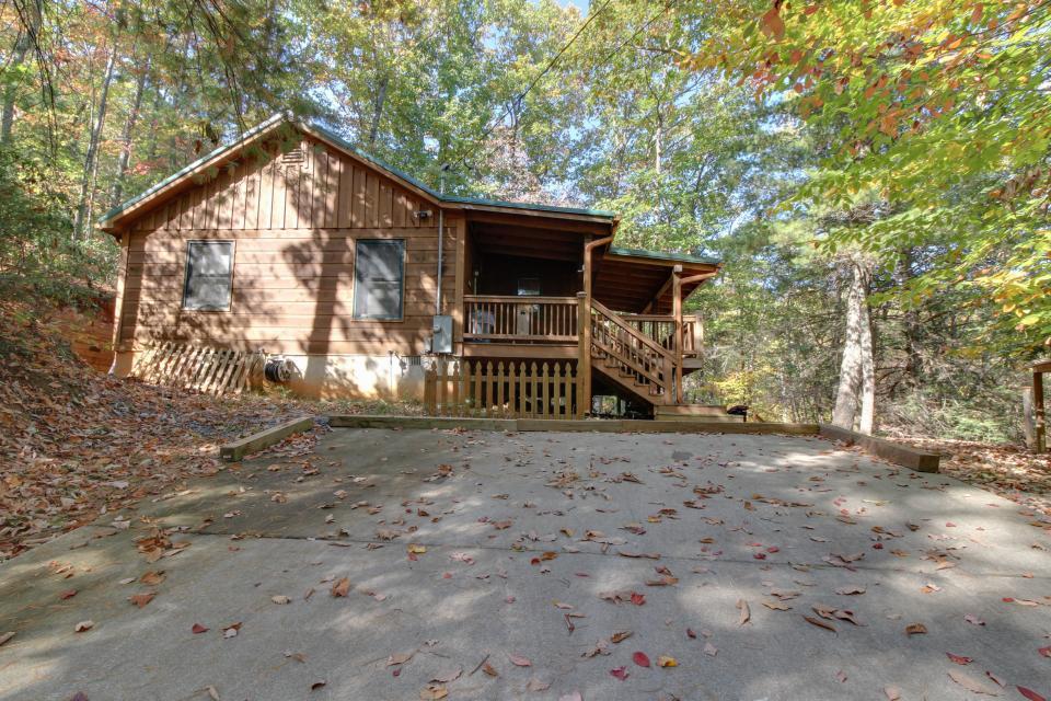 Cherokee Point Cabin - Ellijay Vacation Rental - Photo 44