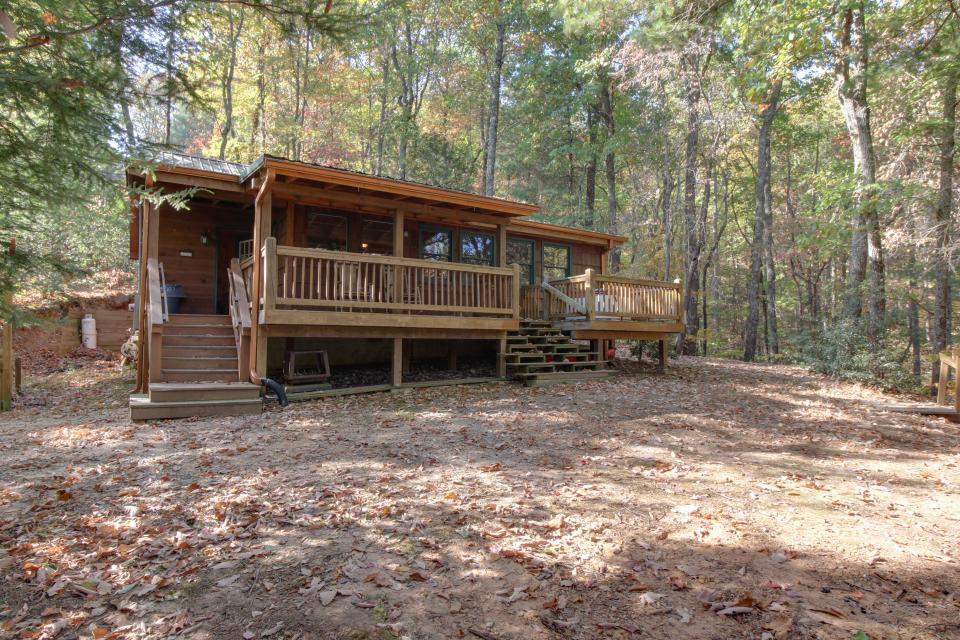 Cherokee Point Cabin - Ellijay - Take a Virtual Tour