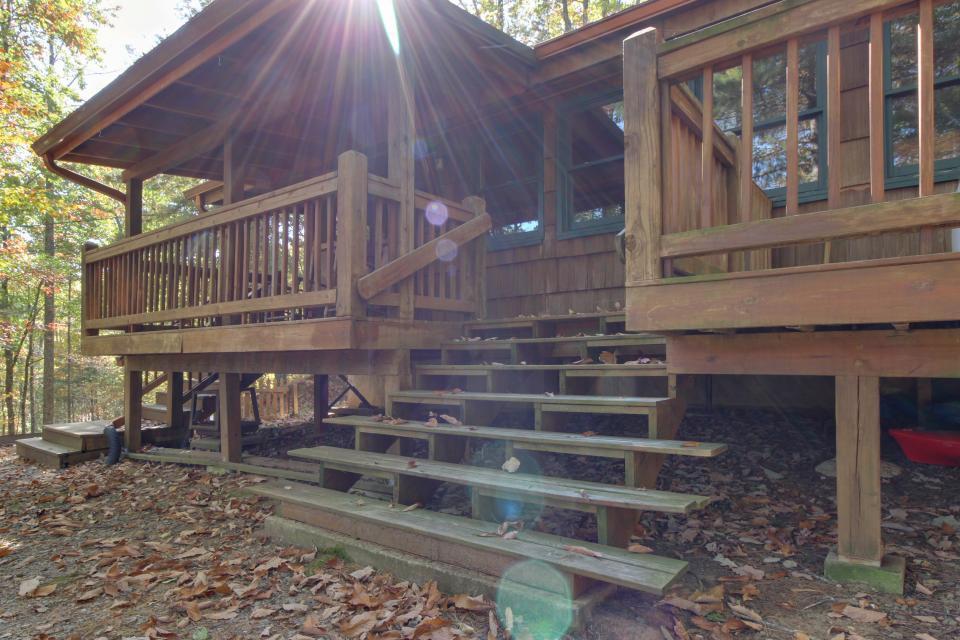 Cherokee Point Cabin - Ellijay Vacation Rental - Photo 45