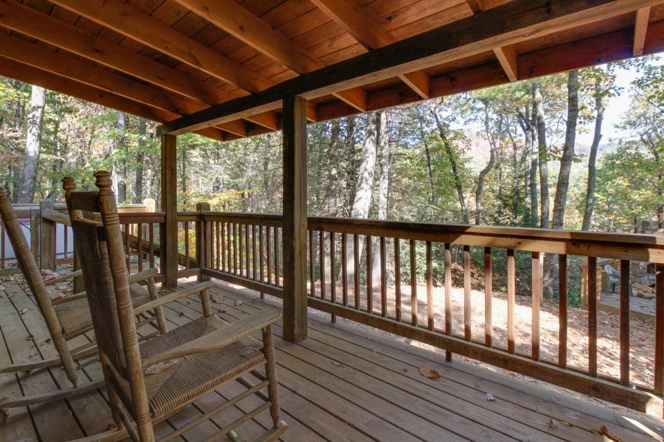 Cherokee Point Cabin - Ellijay Vacation Rental - Photo 32