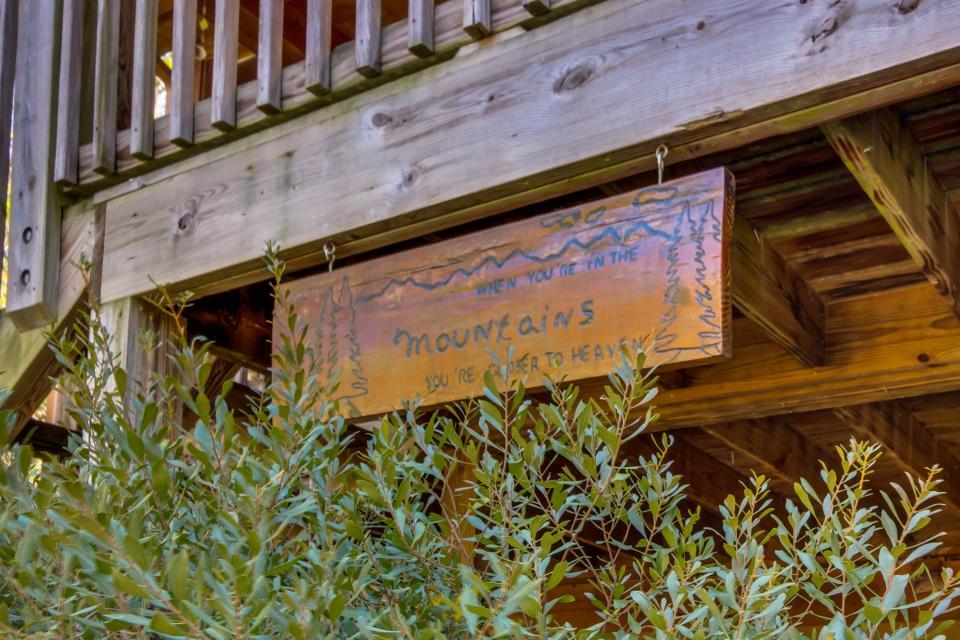 Closer to Heaven Cabin - Talking Rock Vacation Rental - Photo 28