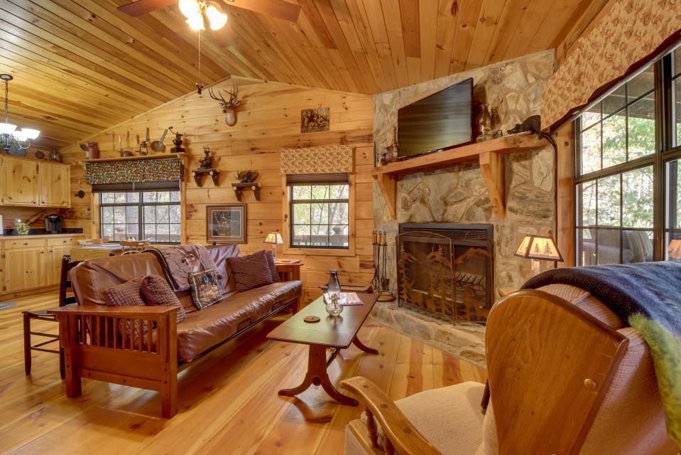 T&M Creek Cabin - Ellijay Vacation Rental - Photo 7