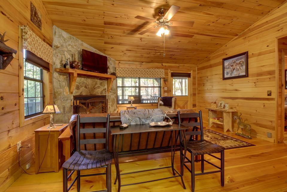 T&M Creek Cabin - Ellijay Vacation Rental - Photo 5