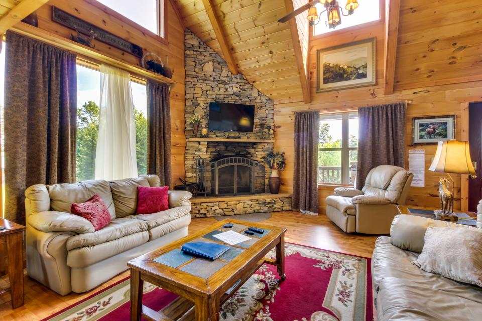 Panoramic View Cabin - Sautee Nacoochee Vacation Rental