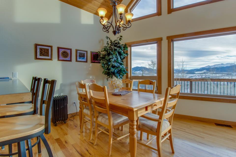 Ptarmigan Mountain Home  - Silverthorne Vacation Rental - Photo 9