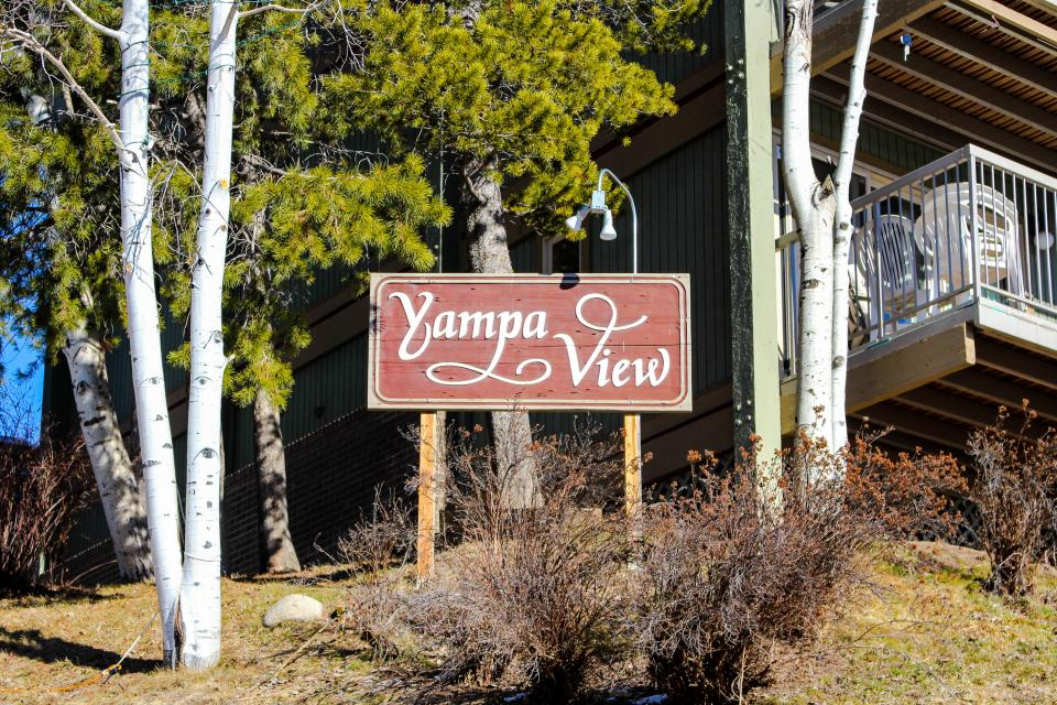 Yampa valley vista 2 bd vacation rental in steamboat for Cabin rentals steamboat springs co