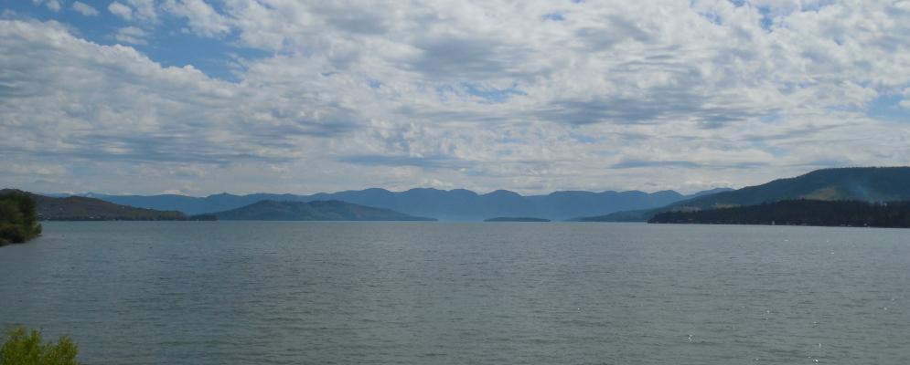 Flathead lake,