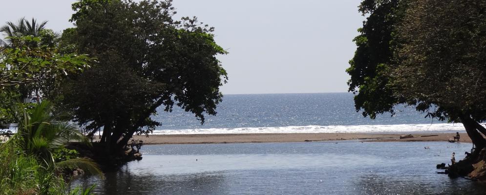 Jaco beach village,